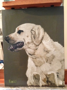 Wrangler- Oil on Canvas by Will Kelly