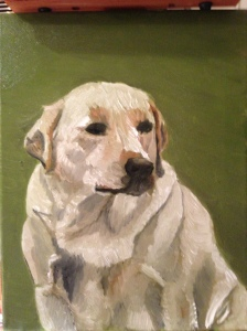 Julep- Oil on Canvas by Will Kelly