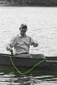 Casting in Canoe